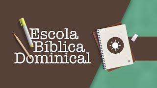 ESCOLA BÍBLICA DOMINICAL  9h15   Rev. Hernandes Dias Lopes   Igreja Presbiteriana de Pinheiros