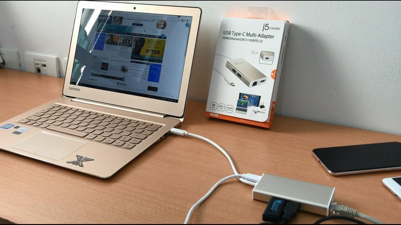 💻 j5Create JCA374 USB Type-C Multi-Adapter