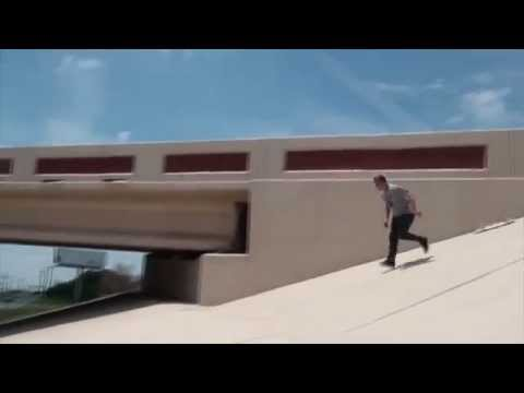 Jacob Keenom and Mark Gingrass Skate Overpass - EATS SHIT BAD. Hall of Meat Style