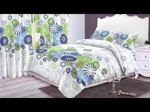 Waxan idin kenay Bedsheet with curtains hada u bahan tahay nala so xirir