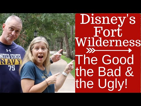 Disney's Fort Wilderness Honest Campground Review: Full Time RV Living