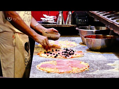 Cooking Italian Pizza like in Italy