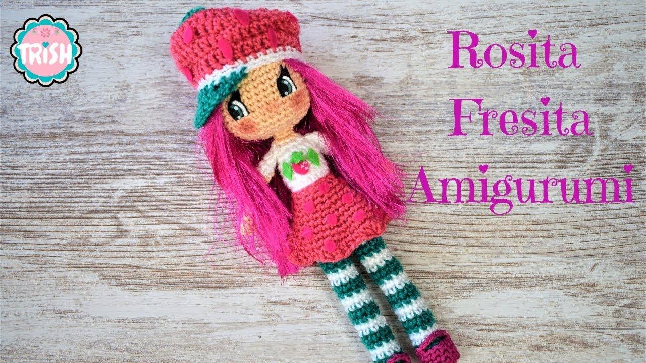 Rosita Fresita Amigurumi Crochet Diy