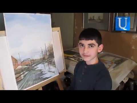 14-ամյա գյումրեցի Հոբը՝ համացանցը գրաված իր նկարի մասին