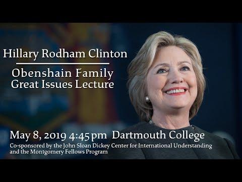 In Conversation with Hillary Rodham Clinton, Daniel Benjamin and Jake Sullivan