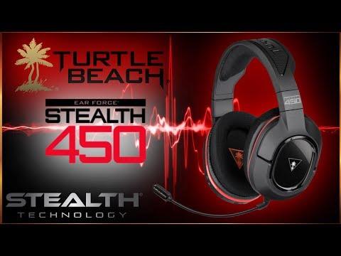 Turtlebeach 450 Stealth Gaming Headset - BEST GAMING HEADSET