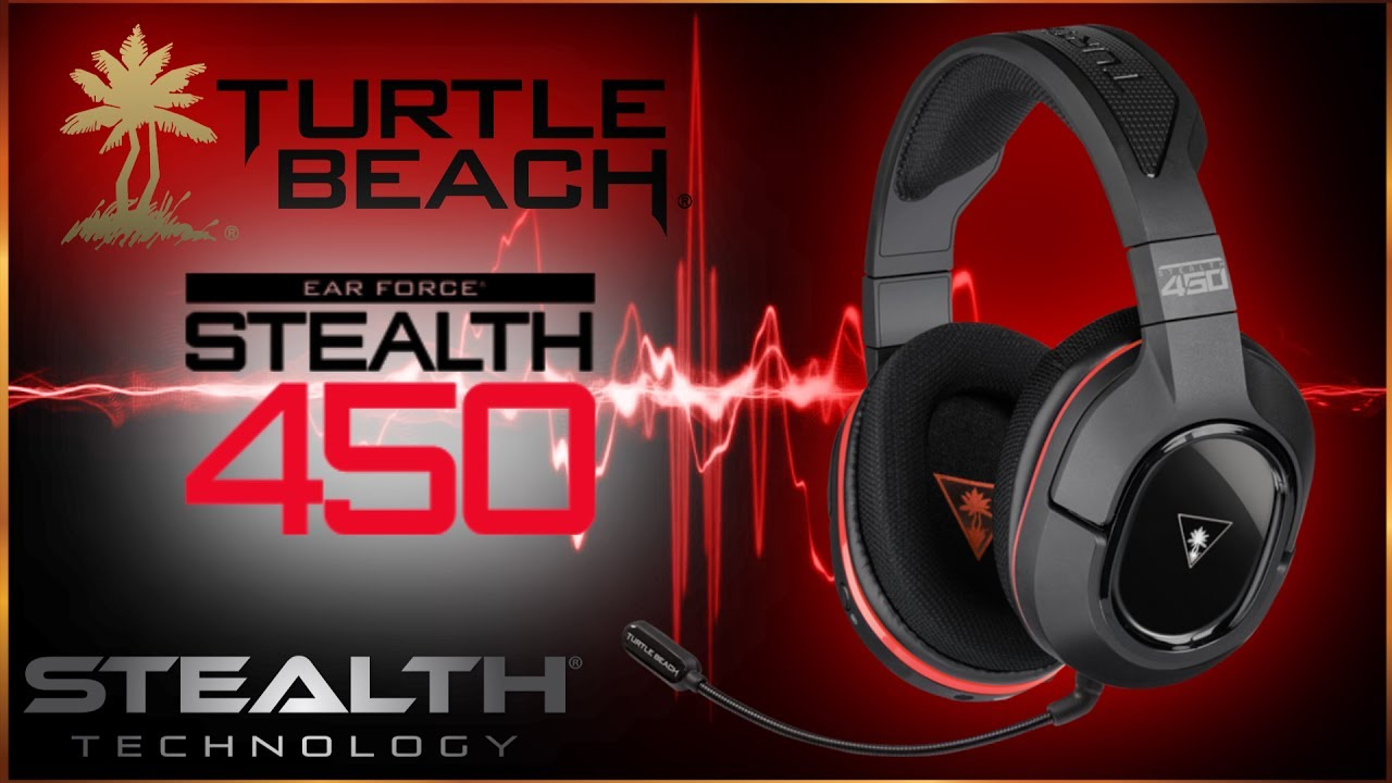 8601df10849 Turtlebeach 450 Stealth Gaming Headset - BEST GAMING HEADSET - YouTube