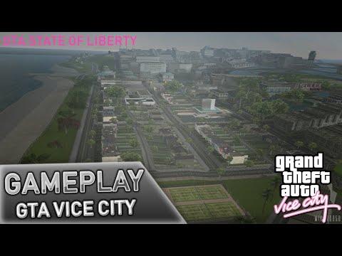 GTA Vice City - GTA State Of Liberty Beta 69.5 (PrimeCuts) - Gameplay