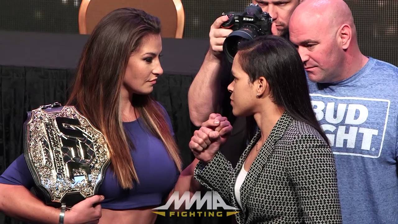 UFC 200 Press Conference Staredowns YouTube