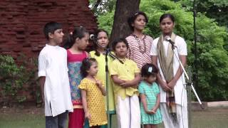 Bharat Hamko Jaan Se: Song by NID Campus Kids 15 Aug 2014
