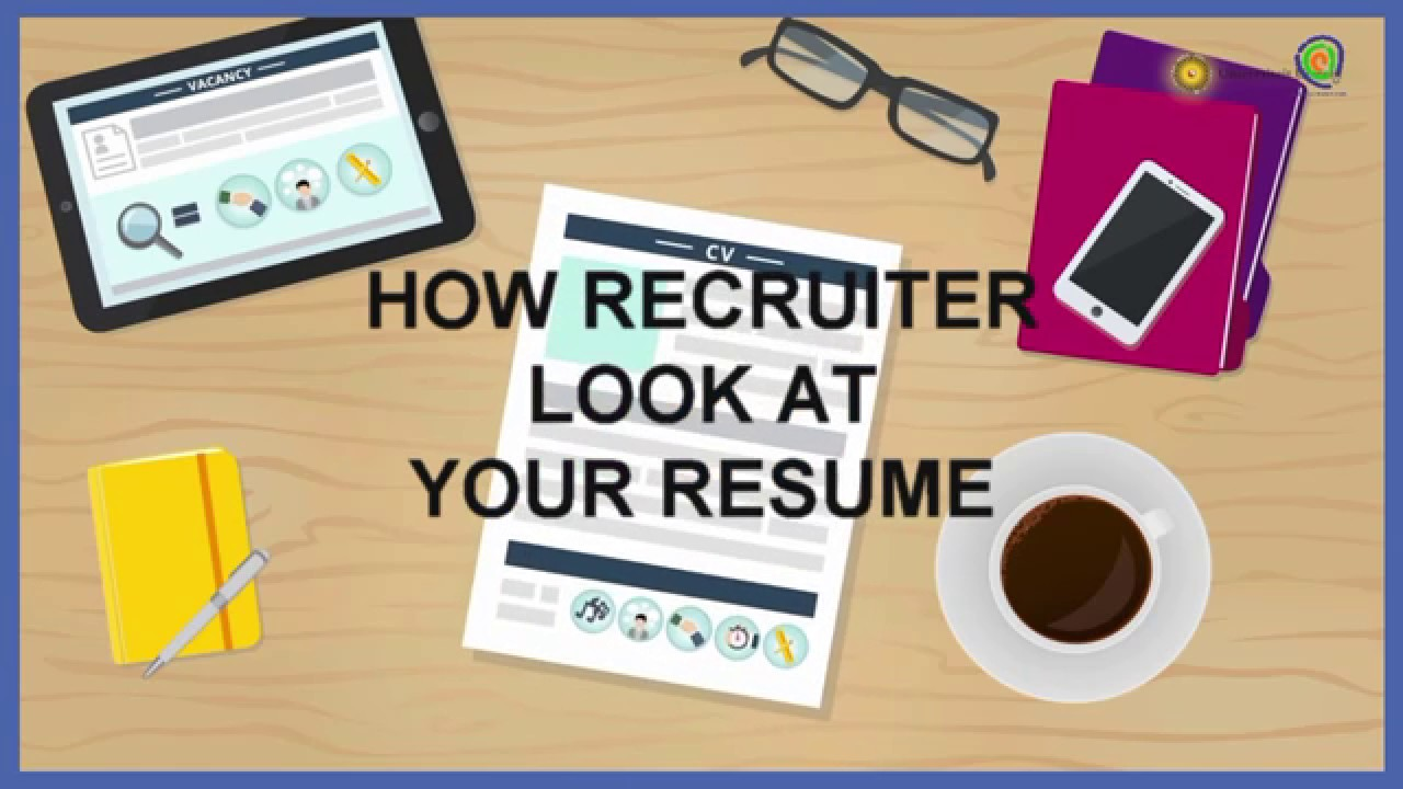 resume How Recruiters Read Resumes how recruiters read your resume in 2 minute or less youtube less