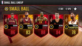 NEW NBA LIVE MOBILE 18 LINEUPS! (My Guesses)