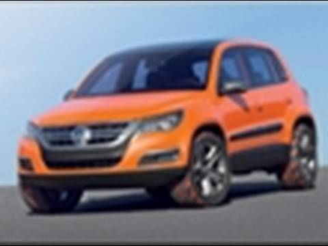 Vw Tiguan Concept At 2006 La Auto Show Youtube