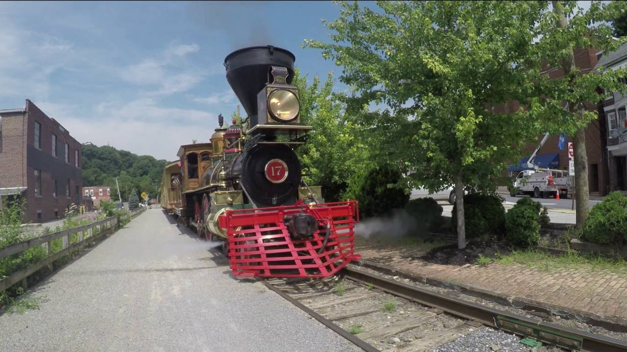 Steam Train Sights and Sounds - YouTube