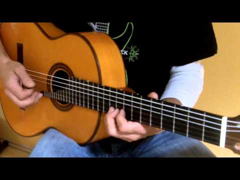 Spanish Flamenco Guitar with Carlos VIP Pickup and Crown Mic