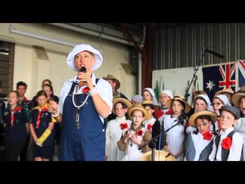 Kangaroo Chorus - A Macca Moment at Moss Vale Showground