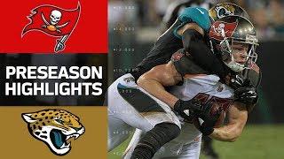 Buccaneers vs. Jaguars | NFL Preseason Week 2 Game Highlights