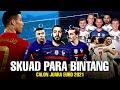 Skuad Para Bintang !!! Adu Kuat 5 Tim Favorit Juara Piala Eropa (Euro 2021)