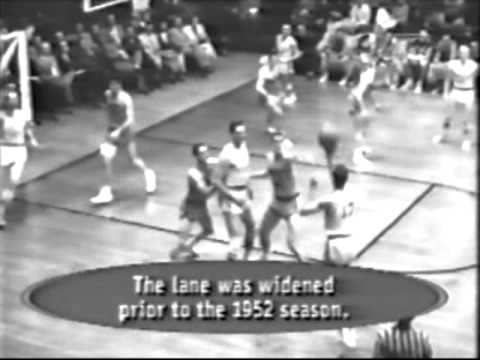 Final NBA 1954 - 1º Partido: LAKERS vs. SYRACUSE (1/2)