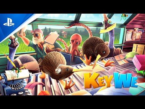 KeyWe - Announcement Trailer   PS5, PS4
