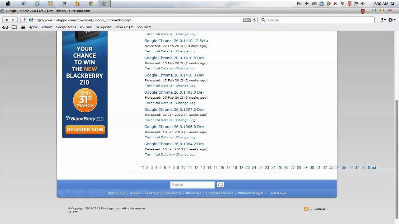 Download Google Chrome For Blackberry Z10