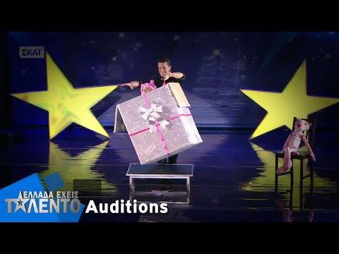 Jorgos Magic & Illusions | Ελλάδα Έχεις Ταλέντο  | 14/11/2017
