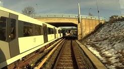 Cabview Metro Line 1 / Oslo metro / Oslo T-bane
