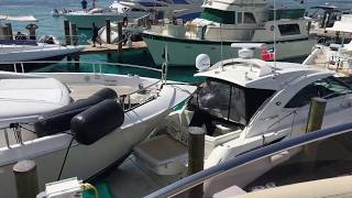 Mega yacht 80 Lazzara sweetwater charter accident.