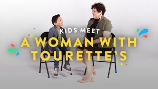 Kids Meet a Woman With Tourette's | Kids Meet | HiHo Kids