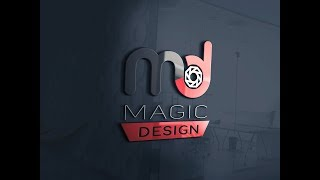 Photoshop Tutorial !! How to make Professionals Logo with simple steps -By Suneel design