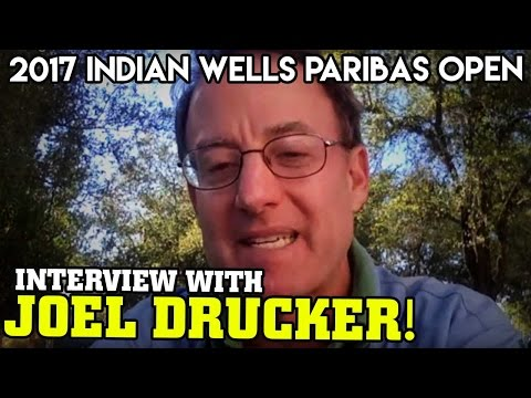 Live Interview with Joel Drucker at the 2017 Indian Wells Paribas Open