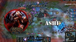 Ashe Montage #6 - Best Ashe Plays Compilation - Ashe Guide[Razmik LOL]