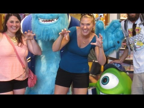 Tour of Downtown Disney, Super Moon, & Alco-haul!!! (6.22.13)