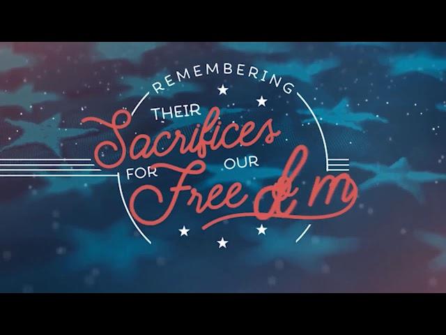 May 24th, 2020: Memorial Day 2020 :