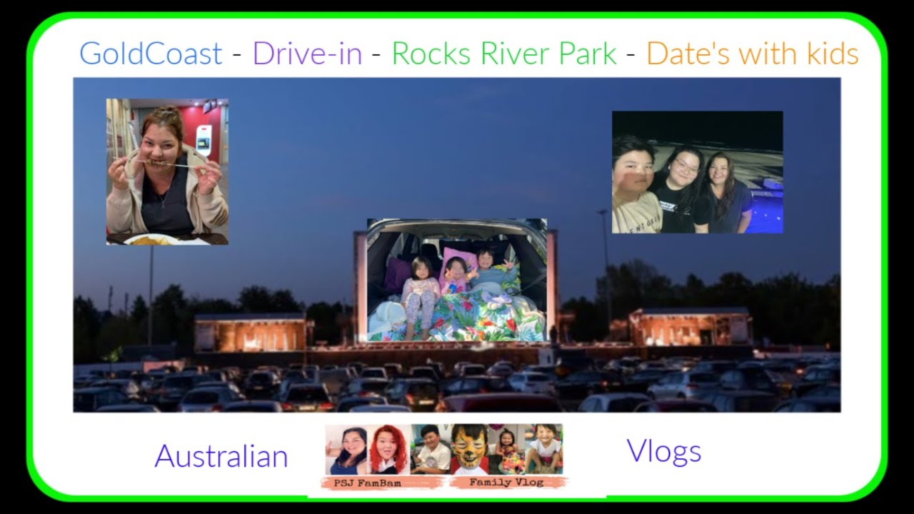 Australian Mum Date Nights with my Kids - Gold Coast-Rocks River Park- Dinner