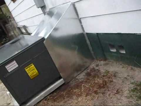 Brand New 2010 Goodman Packaged Heat Pump Wmv Youtube