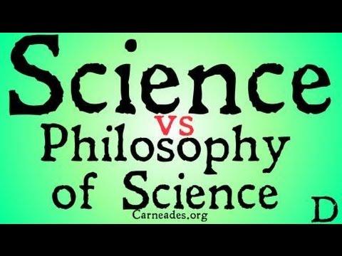 Science vs Philosophy of Science (Distinction)