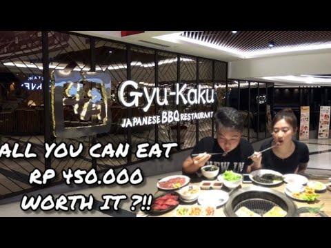 MAKAN DAGING ALL YOU CAN EAT SEPUASNYA DI GYUKAKU !! WORTH IT GAK?
