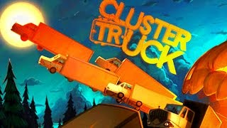 Truck or Treat! Cluster Truck Hallowween ! - Let's Play Clustertrucks Gameplay