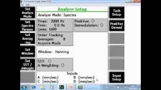 Collect Data Using Order Tracking with the CSI 2140 tutorial
