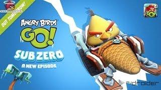 Angry birds Go Sub Zero! Серия 74! Бомб! СЛАЛОМ! Крутая гонка! Энгри Бердз Гоу!