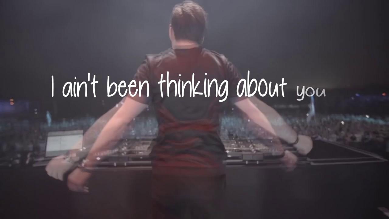 Hardwell Ft Jay Sean Thinking About You Lyrics Youtube