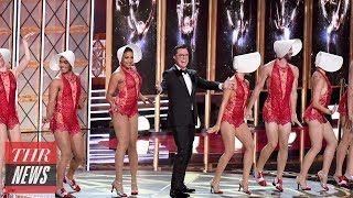 Stephen Colbert Opens 2017 Emmy Awards With Musical Number, Trump Jokes, & Sean Spicer | THR News