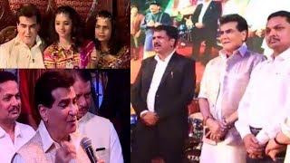 Actor Jeetendra in Mira Bhayandar for Lotus Navratri Utsav 2018 Narendra Mehta