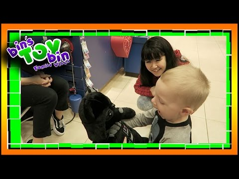 Let's Build-a-Bear with Dollastic! | Toy Hunt in NH! 10.6.2016 | Bin's Toy Bin Family Vlog