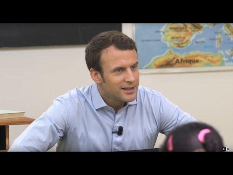 La droite et la gauche selon Emmanuel Macron - PRÉSIDENTIELLE : CANDIDATS, AU TABLEAU !