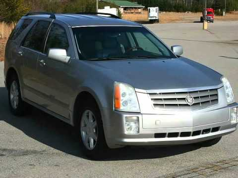 2005 Cadillac SRX V6 SUV Leather 3rd Row Seat Perfect Carfax ...