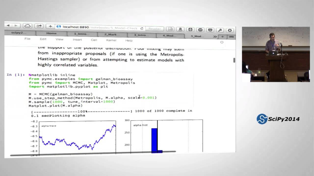 PyVideo org · Bayesian Statistical Analysis using Python - Part 3