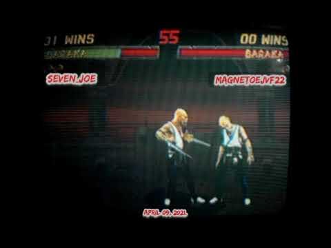 MORTAL KOMBAT II [REVISION 3.1] - ONLINE / BARAKA'S CHALLENGE: SEVEN JOE VS MAGNETOEJVF22 |