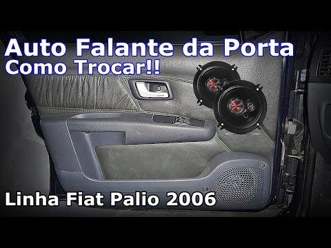 Auto Falante Da Porta Fiat Palio - COMO TROCAR??? - FVM